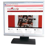 Bildschirm mit Brandschutz24