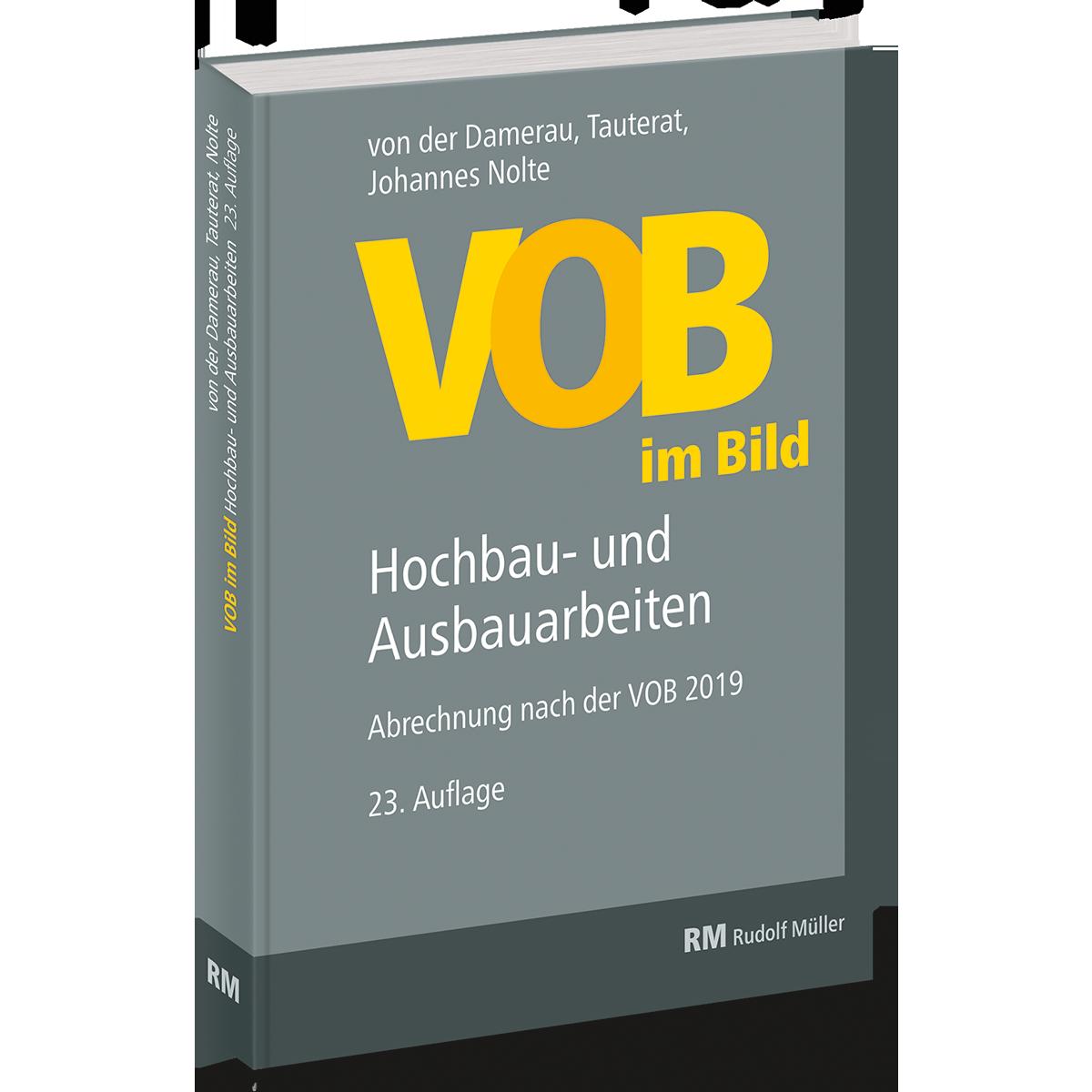 VOB im Bild Hochbau und Ausbauarbeiten